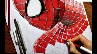 Speed Drawing of the Amazing Spider-Man 2 | Jasmina Susak How to Draw Spiderman