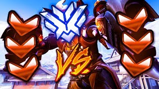 2 Top 500 Players VS 6 BRONZE! - Who Will Win? [INSANE GAME] - Overwatch VS