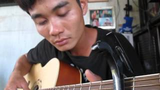 Chuông ngân vang  noel 2015 - guitar solo