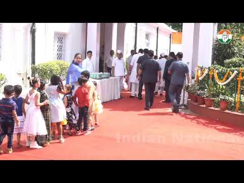 LIVE: Flag Hoisting Ceremony at AICC HQ by Congress President Smt. Sonia Gandhi