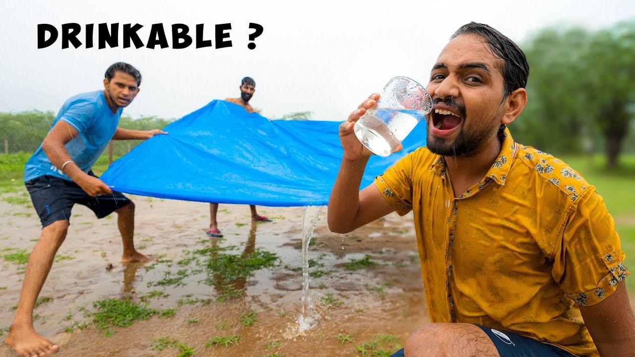 Can We Drink Rain Water ?   क्या हम बरसात का पानी पी सकते हैं ?