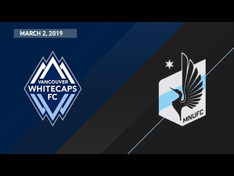 HIGHLIGHTS: Vancouver Whitecaps FC vs. Minnesota United FC | March 2, 2019