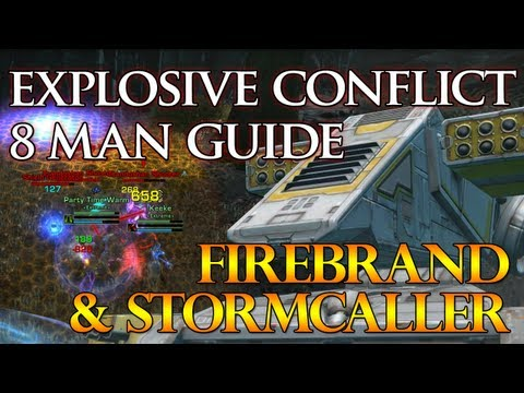 SWTOR Guide | Firebrand & Stormcaller - Explosive Conflict 8 Man Operation - Boss #2