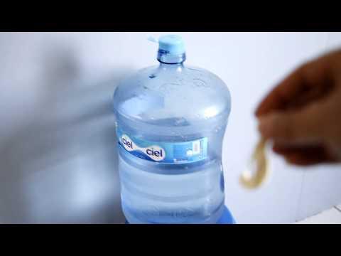Unboxing de un Garrafon de Agua
