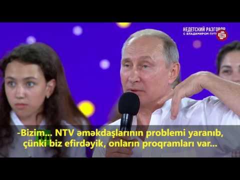 Putin İlham Əliyev haqqında danışdı