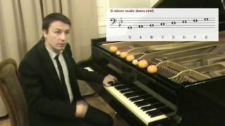 Уроки игры на пианино #7 Минорная гамма