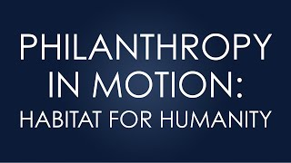Eliassen Group: Philanthropy in Motion (Habitat for Humanity)