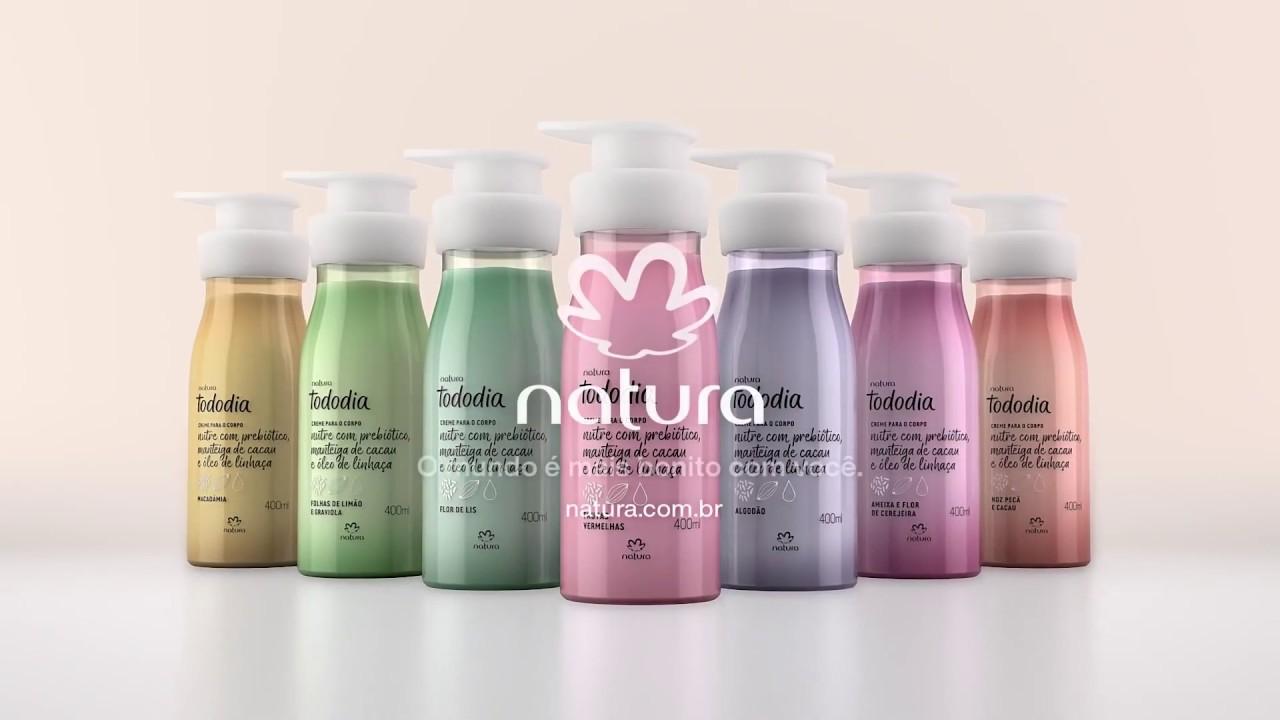 Resultado de imagem para natura hidratantes todo dia e perfumes