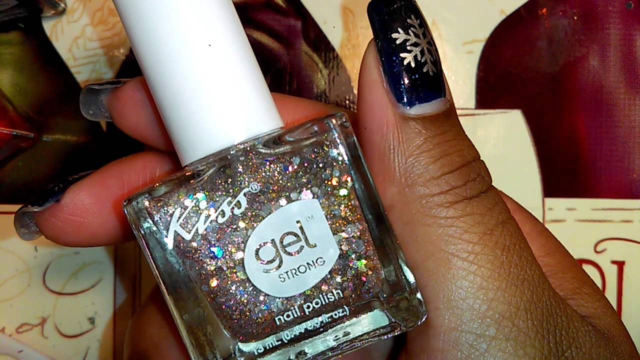 New Kiss Gel Strong Polishes @ Dollar Tree! - YouTube