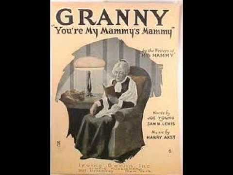 Clyde Doerr Orchestra - Granny, You're My Mammy's Mammy 1921