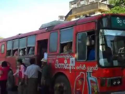 Myanmar: Daily transportation in Yangon