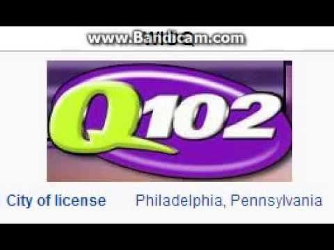 WIOQ 102.1 Q102 Philadelphia, PA TOTH ID at 3:00 p.m. 10/18/2014