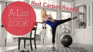 Red Carpet Ready Workout | A-List Look With Valerie Waters