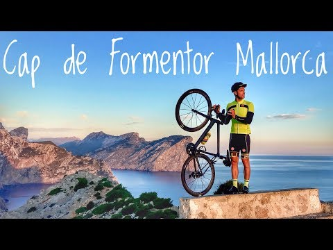 Out on the CANYON ULTIMATE before sunrise! Cap de Formentor! - #cycling Mallorca
