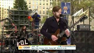 Kings Of Leon - The End (Live On Today Show)