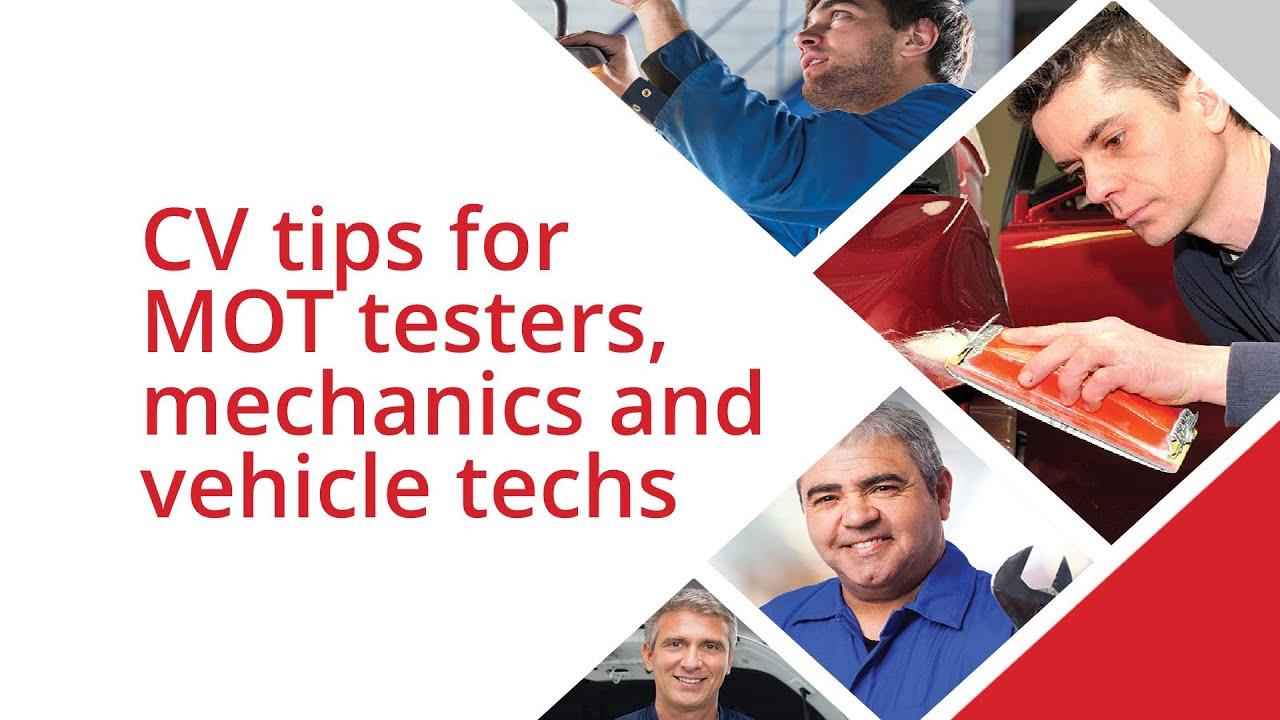 cv writing tips for car mechanics mot testers vehicle cv writing tips for car mechanics mot testers vehicle technicians autotech recruit