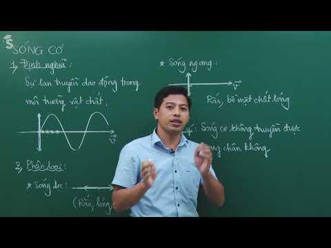 Đại cương về sóng cơ học - Vật lý lớp 12-  Thầy giáo : Phạm Quốc Toản