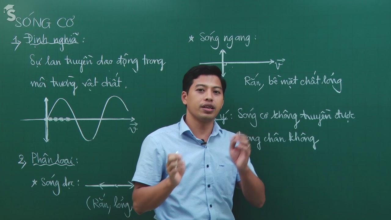 Đại cương về sóng cơ học – Vật lý lớp 12-  Thầy giáo : Phạm Quốc Toản
