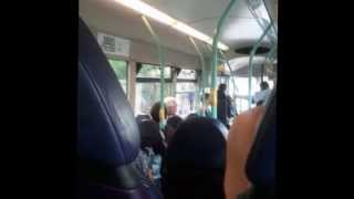 Angry Old Man Swearing On a Bus About Politics, Andy Murray, Germans and Football.