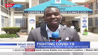 Fighting COVID-19: CS Mutahi Kagwe tours KU referral hospital