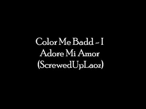 Color Me Badd - I Adore Mi Amor Chopped