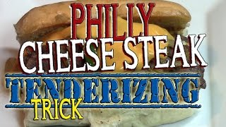 Philly Cheese Steak Tenderizing Trick - Episode 140