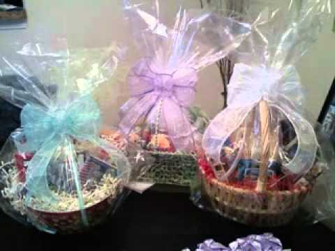 Cheap Bridal Shower Gift Basket Ideas : Wedding shower gift basket ideas - YouTube
