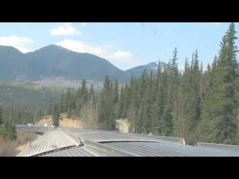 [HD:30 Mins] Toronto to Vancouver by VIA Rail - The Canadian