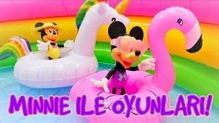 Çocuklar için Minnie Mouse ile seçkin bölümler! Eğlenceli oyun videosu.