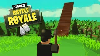 PLAYING FORTNITE in ROBLOX (Roblox Island Royale)