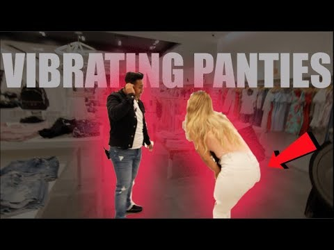 Vibrating Panties Prank On Girlfriend! (IN PUBLIC)