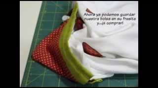 Tutorial bolsa plegable
