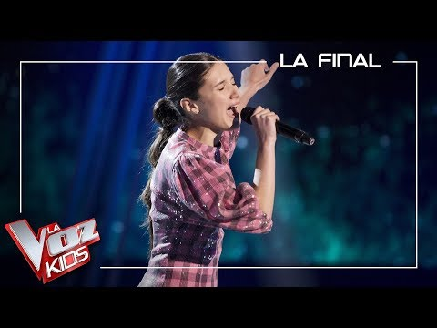 Irene Gil Canta 'And I'm Telling You I'm Not Going'   Final   La Voz Kids Antena 3 2019