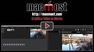 Stabilize Video In iMovie (#1283)