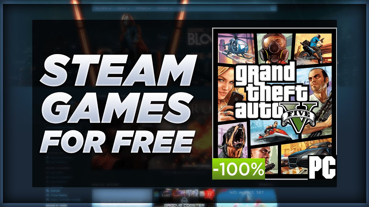 How To Get Steam Games FOR FREE! Download FREE Steam Games 2019!