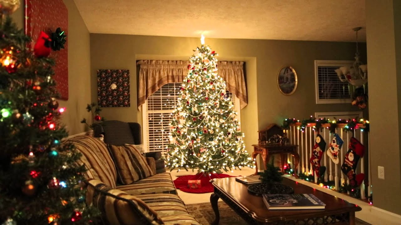 Rotating Christmas Tree 2015 - YouTube