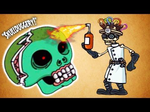 Skullduggery #6 Мультик игра для детей про приключения черепа Веселая игра для андроид - Duur: 15:41.