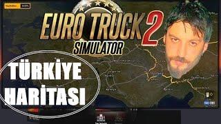Türkiye Haritası | Euro Truck Simulator 2 Türkçe | İstanbul Bartın