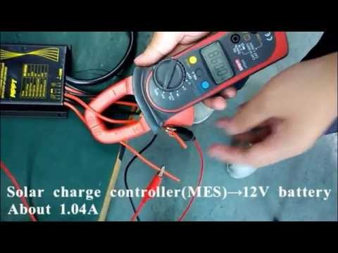 ML MPC MES Input and Output Current Testing---SRNE Solar