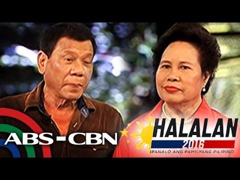Pares-Pares: Duterte vs. Santiago