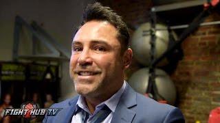 De La Hoya still targets Canelo GGG in Sept. Saunders offer cut in half after terrible performance