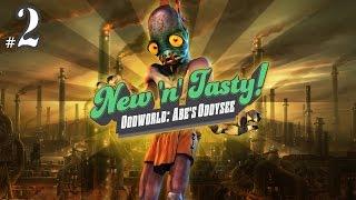 Oddworld: New 'n' Tasty | PC | 2015 | Abe's Oddysee | #02 Abe ist auf der Flucht!