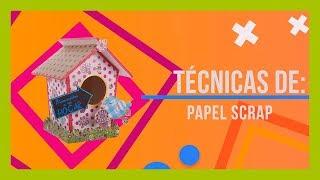 Técnica papel scrap