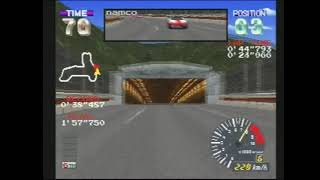 "ALZERI Speedruns: Ridge Racer Revolution, Novice Extra Race using GALAGA CARROT (2'14""969)"