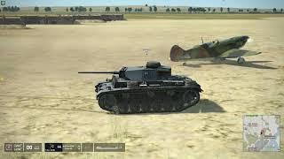 IL-2: Tank Crew: Plane vs Tank physics interaction