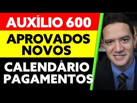 600 AUXÍLIO EMERGENCIAL NOVOS APROVADOS CALENDÁRIO DE PAGAMENTOS PRIMEIRA PARCELA