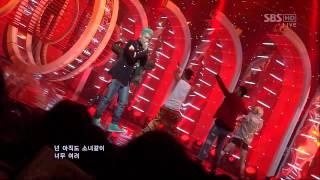 BIGBANG [BAD BOY] @SBS Inkigayo Popular song 20120311