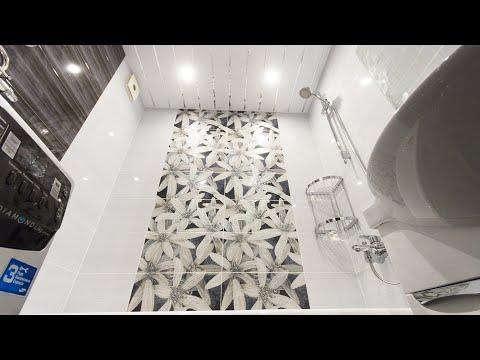 Ремонт ванной комнаты и туалета в доме П-44т-1