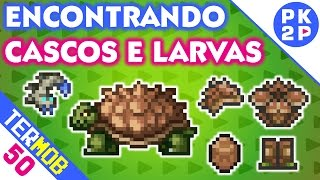 Encontrando Tartarugas e Primeiros Vermes Trufa • Terraria Mobile #50