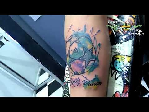 Urbano Tatuajes Futbol Mi Pasion Youtube